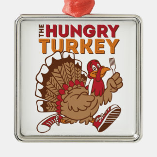 thanksgiving turkey day metal ornament