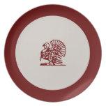 Thanksgiving Turkey Dinner Plates