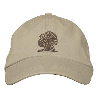 Thanksgiving Turkey Embroidered Baseball Hat