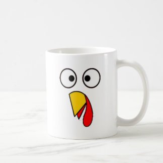 Thanksgiving Turkey Face Tees Coffee Mug