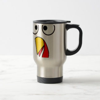 Thanksgiving Turkey Face Tees Travel Mug