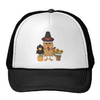 Thanksgiving Turkey Friends Trucker Hat