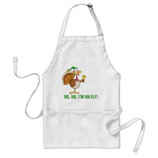 Thanksgiving Turkey Funny Disguise for Christmas Adult Apron