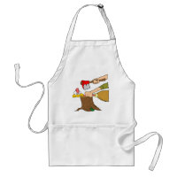 Thanksgiving turkey getting the axe adult apron