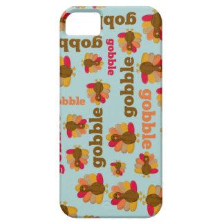 Thanksgiving Turkey Gobble Gobble iPhone 5 Case