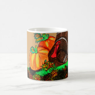 THANKSGIVING TURKEY GOBBLER mug