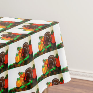 THANKSGIVING TURKEY GOBBLER table cloth Tablecloth