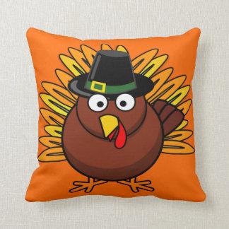 Thanksgiving Turkey Holiday  20x20 Throw Pillow