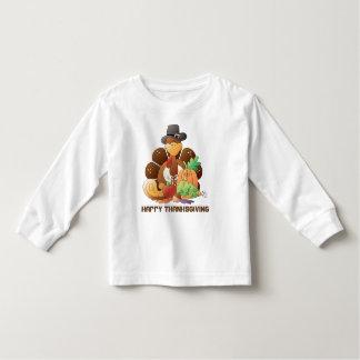 Thanksgiving turkey Holiday toddler t-shirt