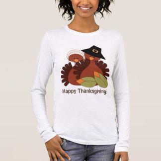 Thanksgiving turkey Holiday womens t-shirt