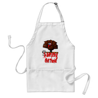 Thanksgiving Turkey - In EVERYTHING Give Thanks Adult Apron