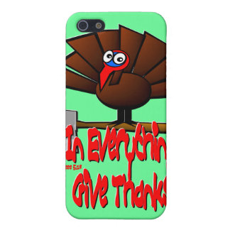 Thanksgiving Turkey - In EVERYTHING Give Thanks Case For iPhone 5/5S