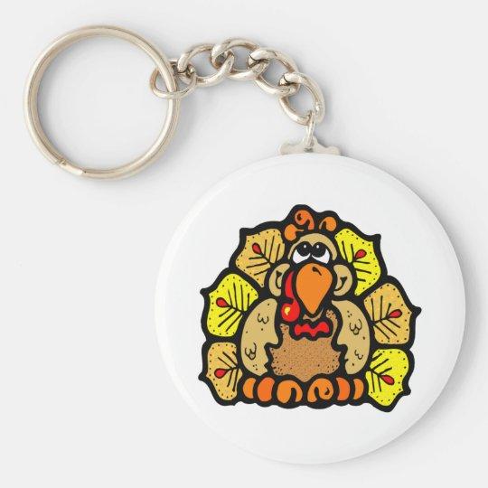 Thanksgiving Turkey Keychain