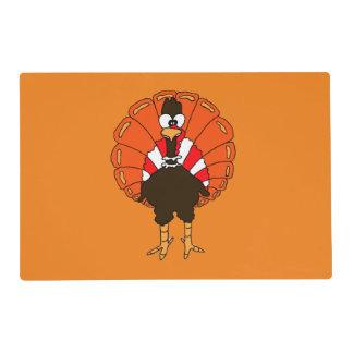 Thanksgiving Turkey Laminated Placemat