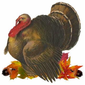 Thanksgiving Turkey Left-Facing Sculpture