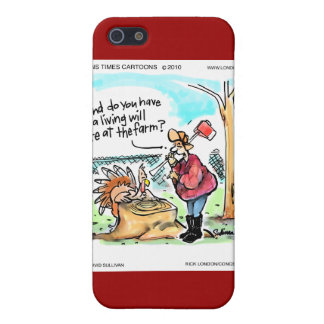 Thanksgiving Turkey Living Will Funny Gifts & Card iPhone 5 Cover
