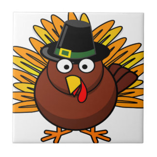 Thanksgiving Turkey Logo Create a Holiday Gift Tiles