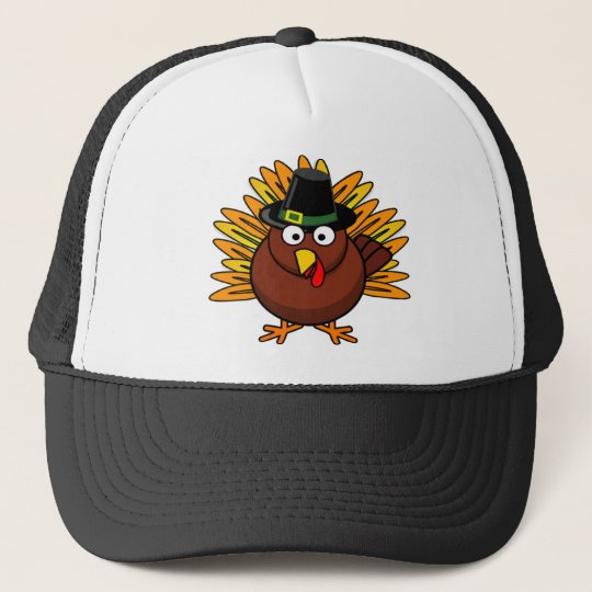 Thanksgiving Turkey Logo Create a Holiday Gift Trucker Hat  53654aead