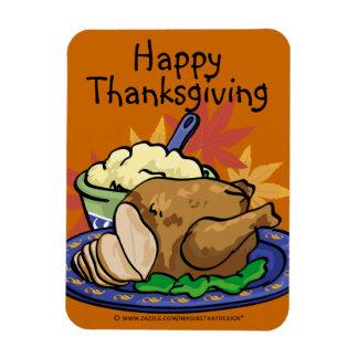 Thanksgiving Turkey Magnet