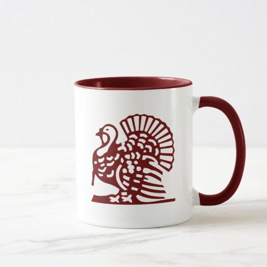Thanksgiving Turkey Mug