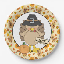 Thanksgiving Turkey party paper plate
