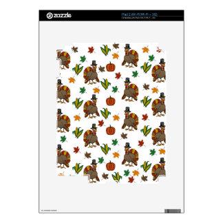 Thanksgiving Turkey pattern Skin For iPad 2