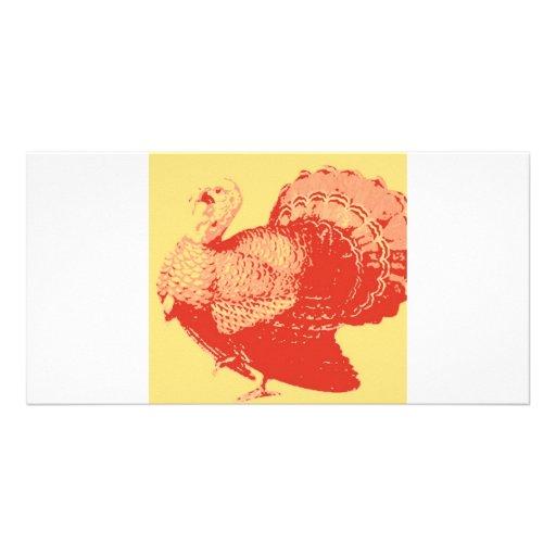 Thanksgiving Turkey Photo Card