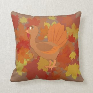 Thanksgiving Turkey Pillows