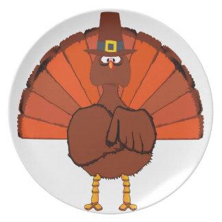 Thanksgiving Turkey Plate
