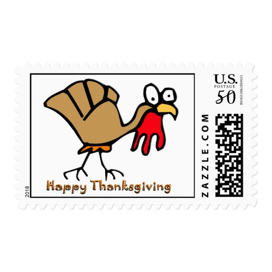 Thanksgiving Turkey Postage