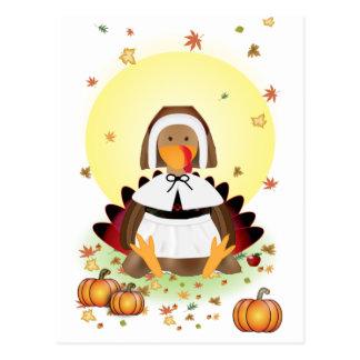 Thanksgiving Turkey Postcard