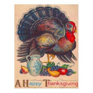 Thanksgiving Turkey Post Card
