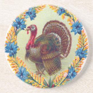 Thanksgiving Turkey Sandstone Coaster