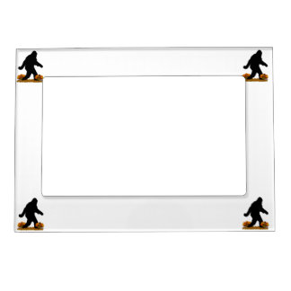 Thanksgiving Turkey Squatchin Magnetic Picture Frames