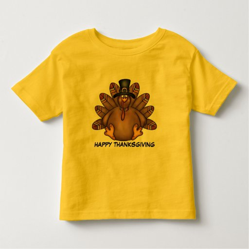 Thanksgiving turkey t shirt zazzle for Shirts made in turkey