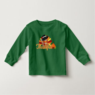 Thanksgiving turkey toddler unisex t-shirt