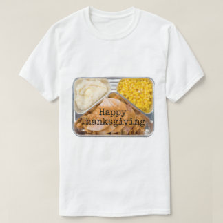 Thanksgiving TV Dinner T shirt