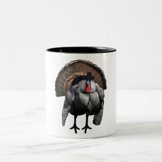 Thanksgiving Two-Tone Coffee Mug