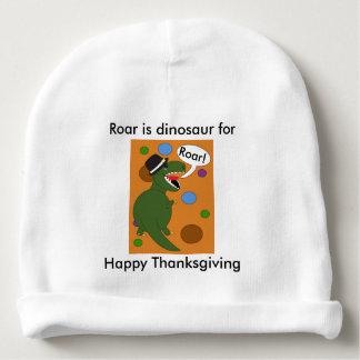Thanksgiving Tyrannosaurus Rex Dinosaur Baby Beanie