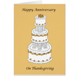 Thanksgiving Wedding Anniversary