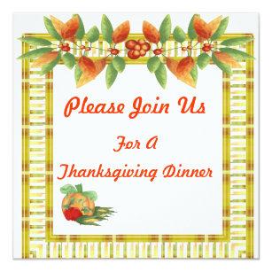 thanksgiving wedding invitations zazzle