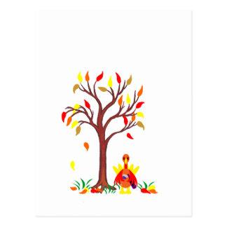 Thanksgiving Wine Drinking Turkey Postcard