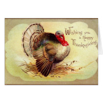 Thanksgiving Wishes Card