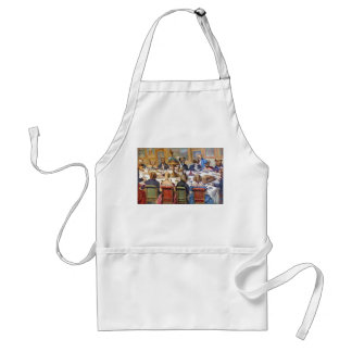 """Thanksgiving with Dogs aka """"Dogs Dinner Party """" Adult Apron"""