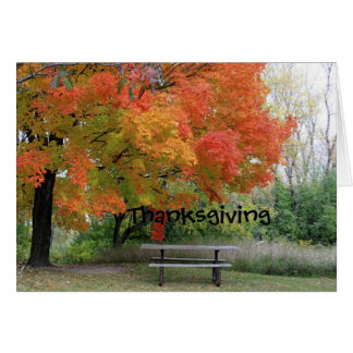 Thanksgiving Without You Greeting Card