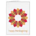 Thanksgiving Wreath Card