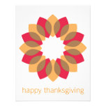 Thanksgiving Wreath Custom Announcement