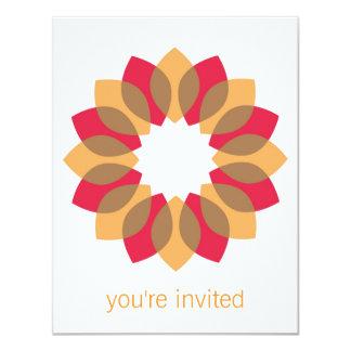 Thanksgiving Wreath 4.25x5.5 Paper Invitation Card