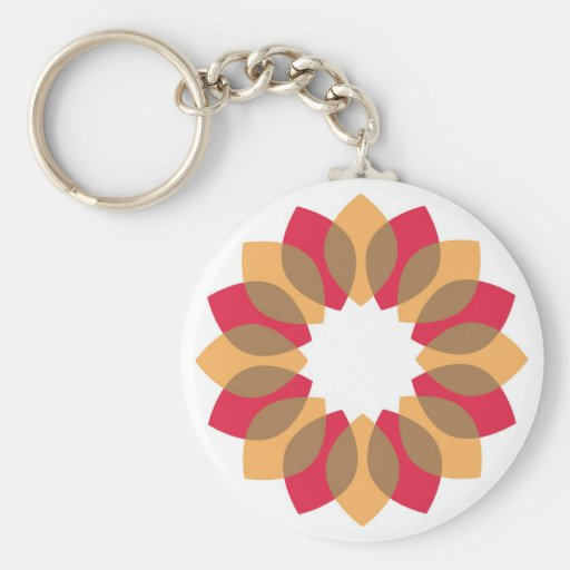 Thanksgiving Wreath Key Chains