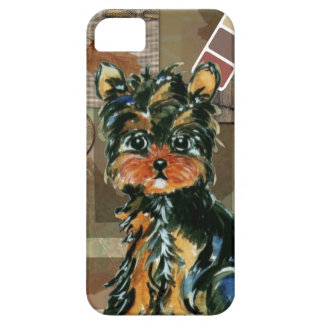 THANKSGIVING YORKIE iPhone SE/5/5s CASE
